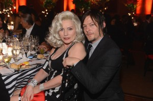 Norman Reedus and Debbie Hary
